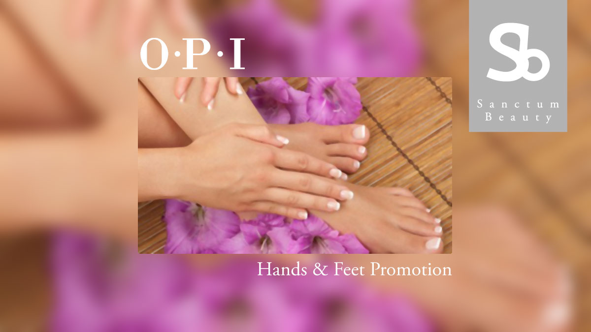 OPI Hands and Feet Promotion